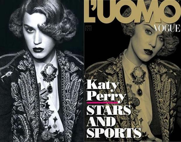 Katy Perry encarna toureira espanhola em editorial para revista (Foto: Divulgação)