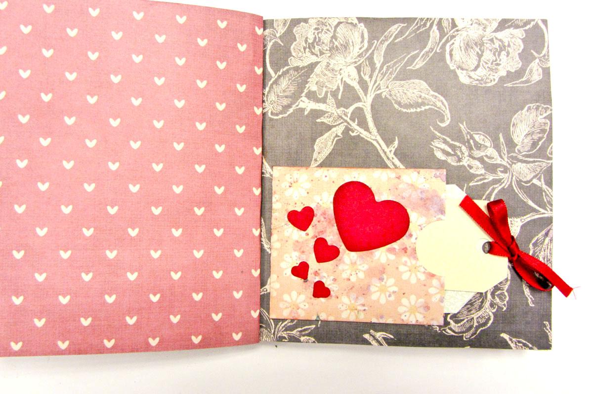 álbum scrapbooking encuadernación+decoración