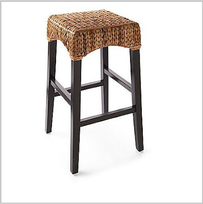 Pottery Barn Seagrass Backless Barstool Decor Look Alikes