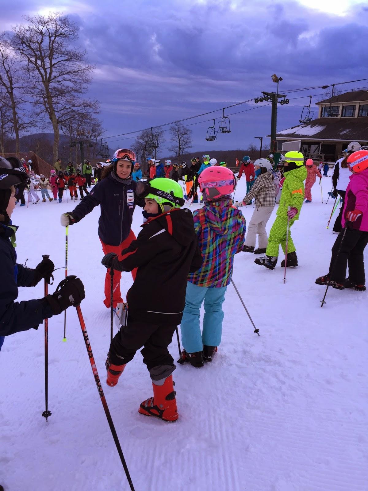 megan mcjames, wintergreen, wintergreen race team, SARA, alpine ski, gs