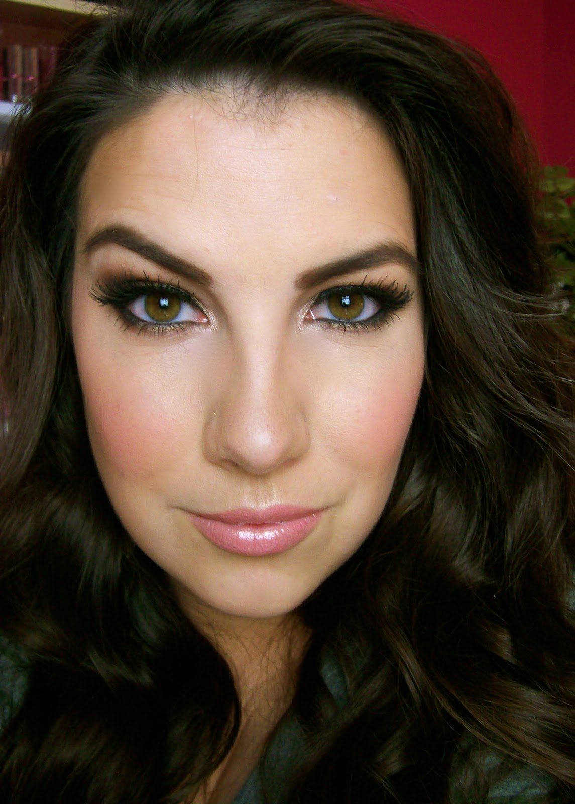 Olive Smokey Eyes With Too Faced Natural At Night