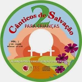 CD Cânticos de Salvação 2