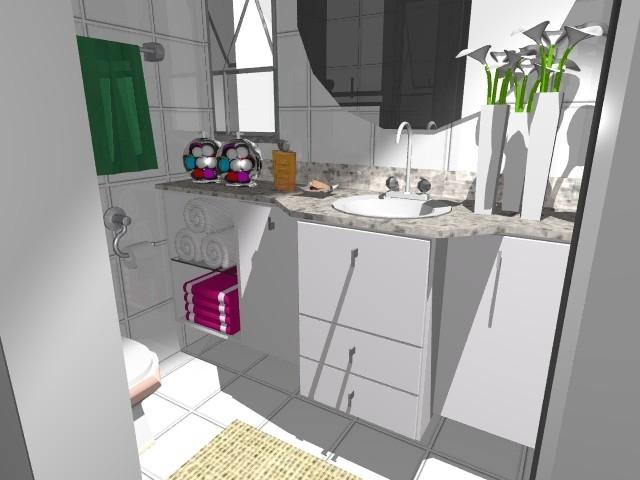 Ambientes & Ideias Banheiro  Uma breve história da evolução desse cômodo -> Armario Banheiro Vazado