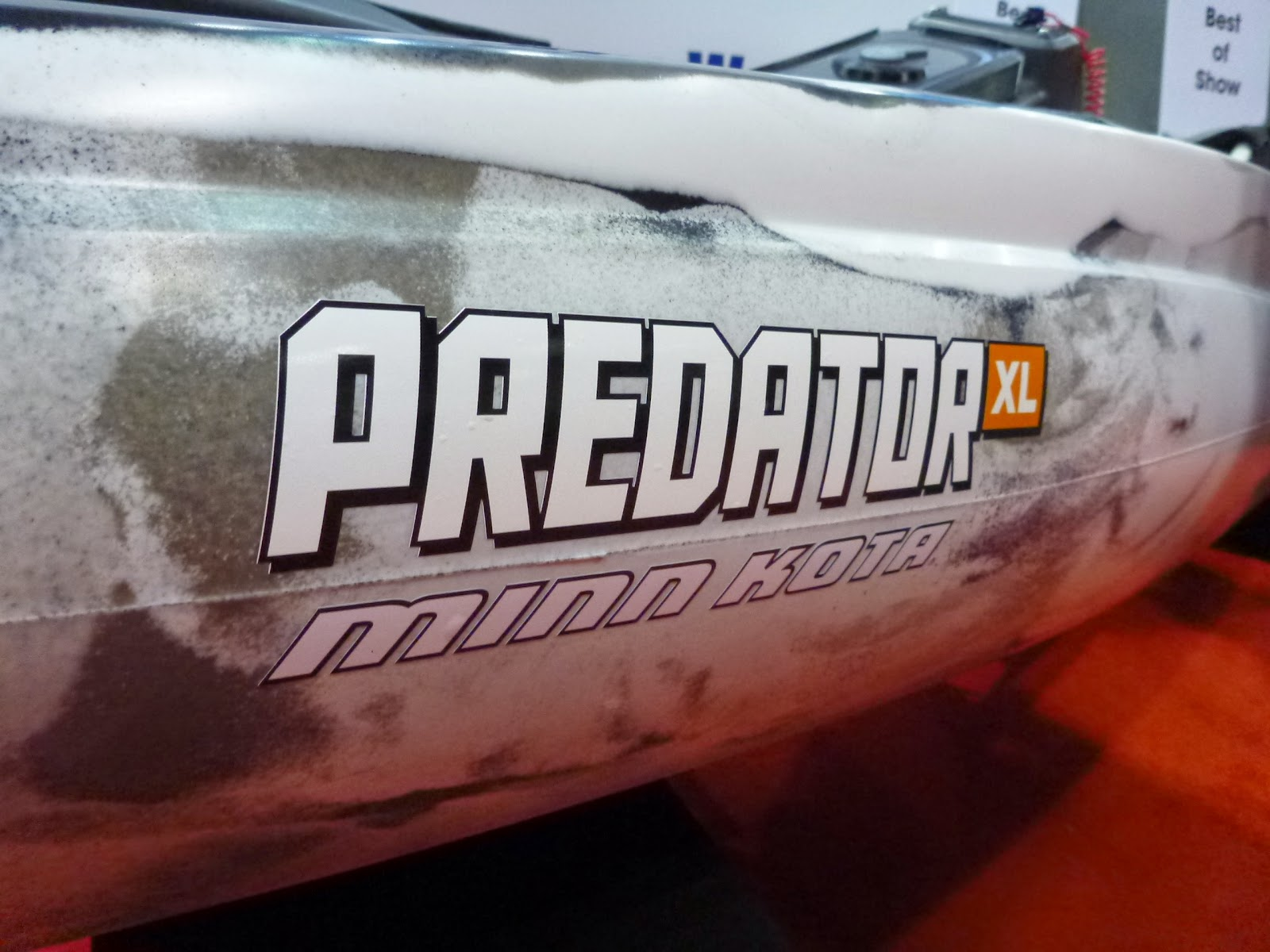 Old Town Predator Kayak XL Minn Kota