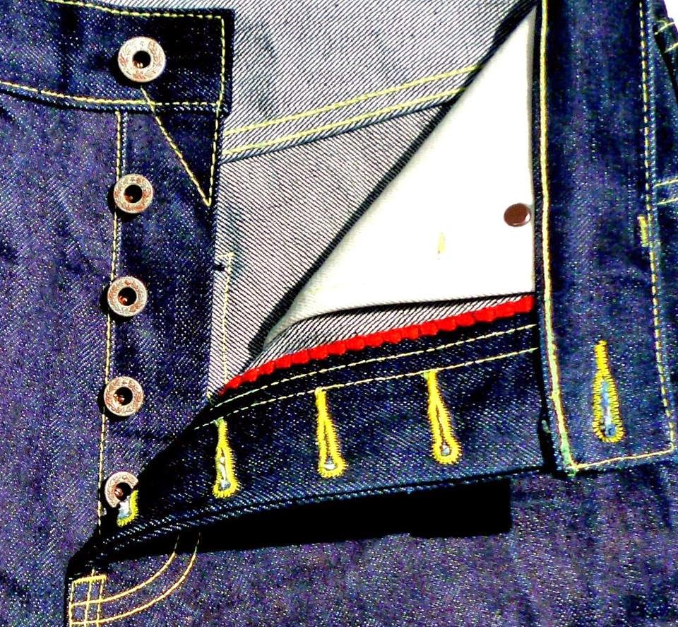 Simon James Cathcart - SJC Denim - fly detail