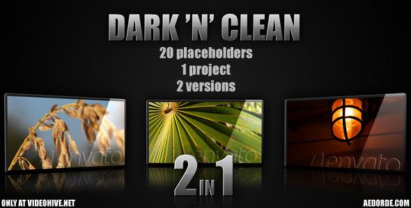 VideoHive Dark 'n' clean