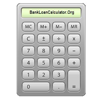 bank loan calculator