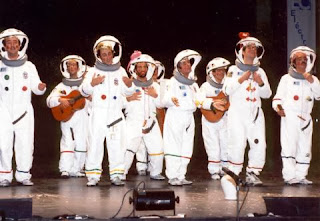 Los astronautas españoles 1.996