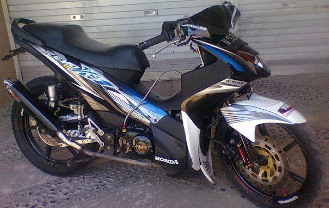 400+ Foto Modifikasi Honda Revo 2014