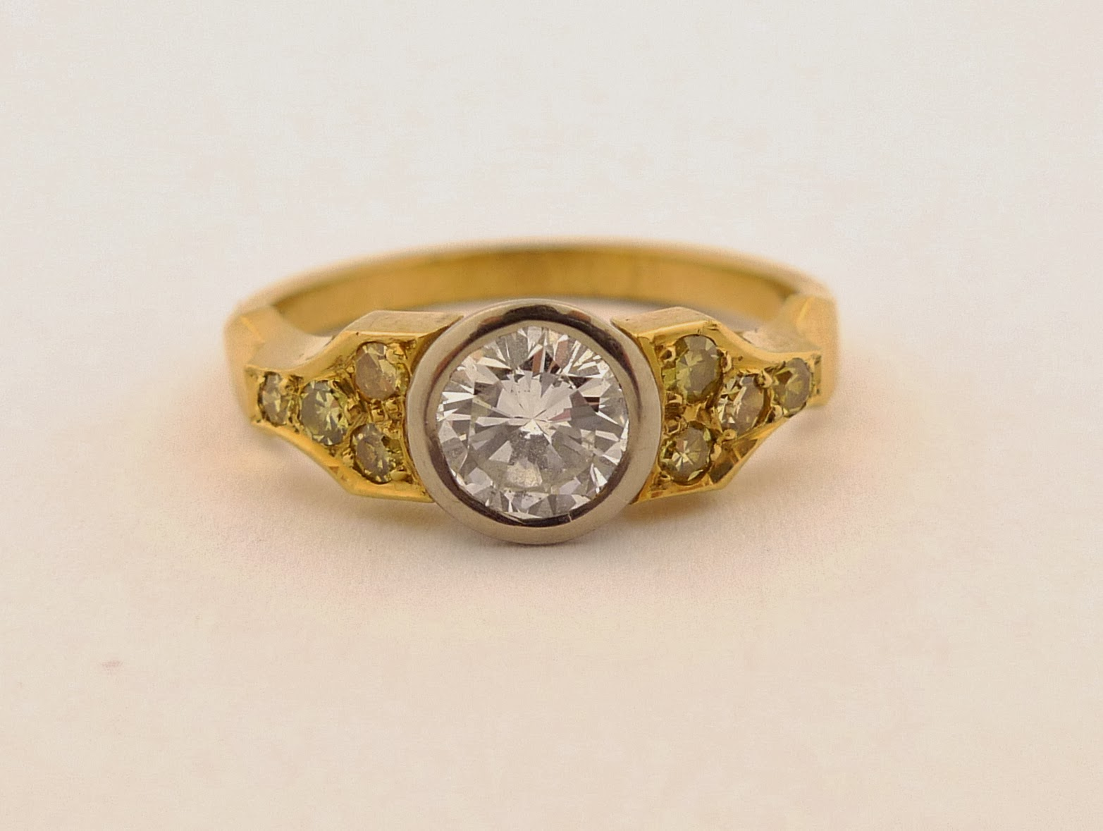 Watch Swap Cafe Two Interesting Vintage Diamond Rings for Sale Toronto Auction