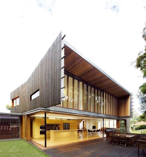Highgate hill residence house modern australian richard for Terrace elevation designs