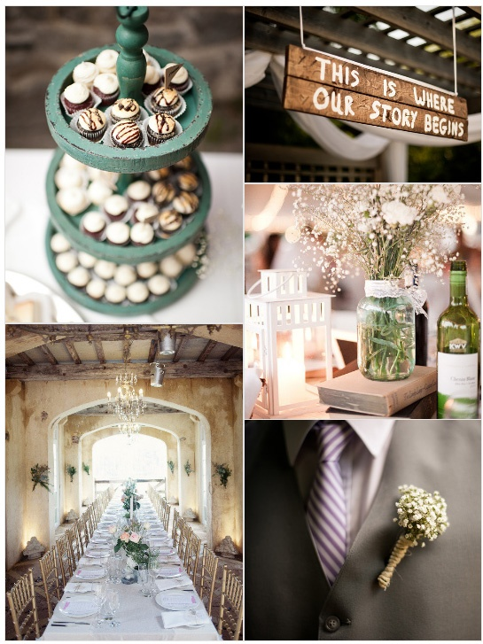 Diy Wedding Decorations Rustic