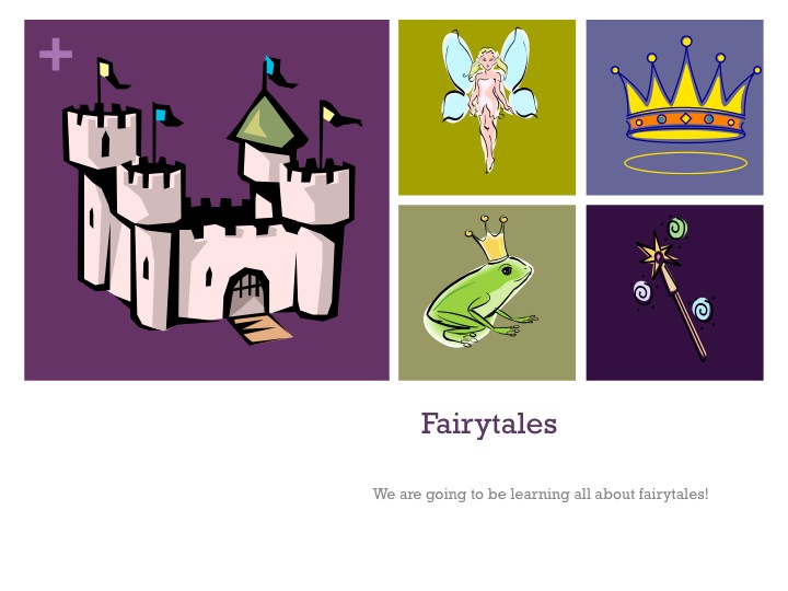 how to start a fractured fairy tale