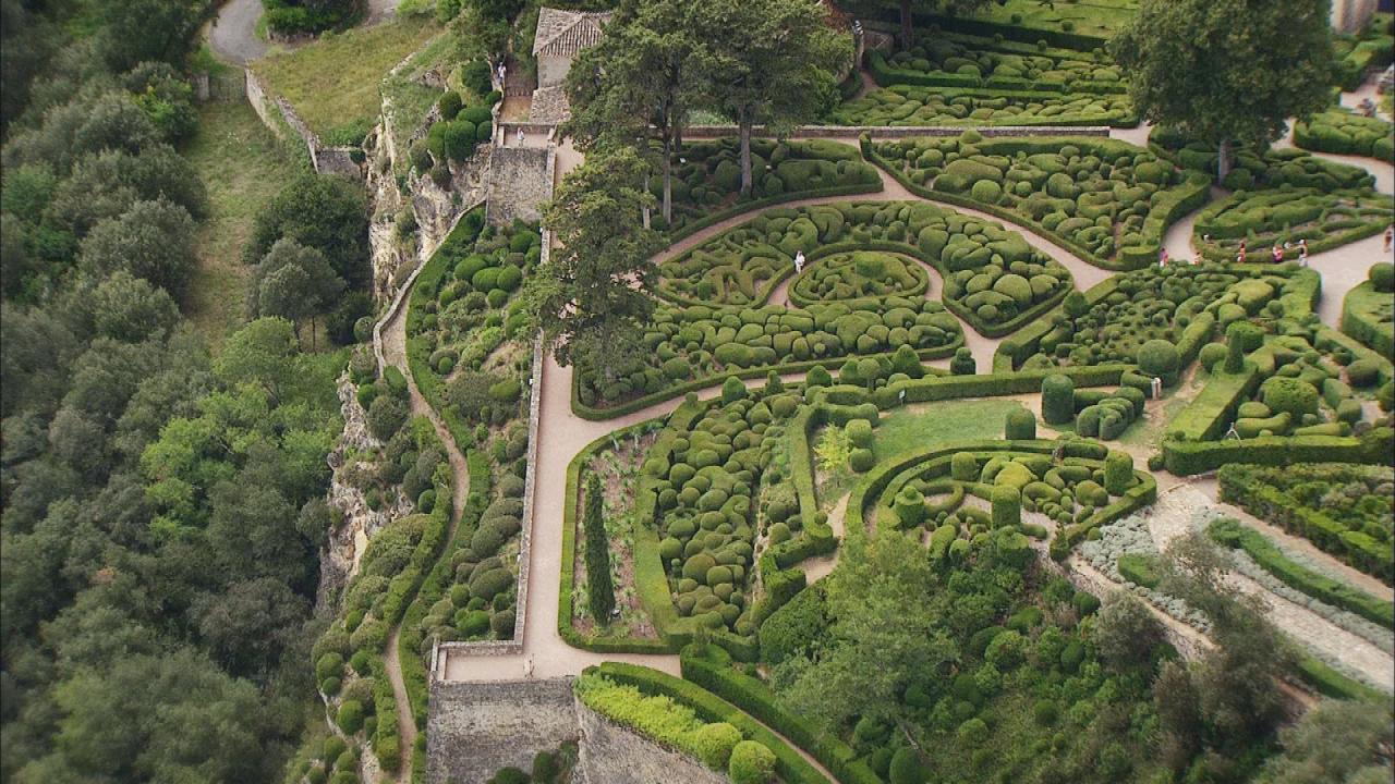 Dream gardens les jardins suspendus de marqueyssac - Jardins suspendus de marqueyssac ...