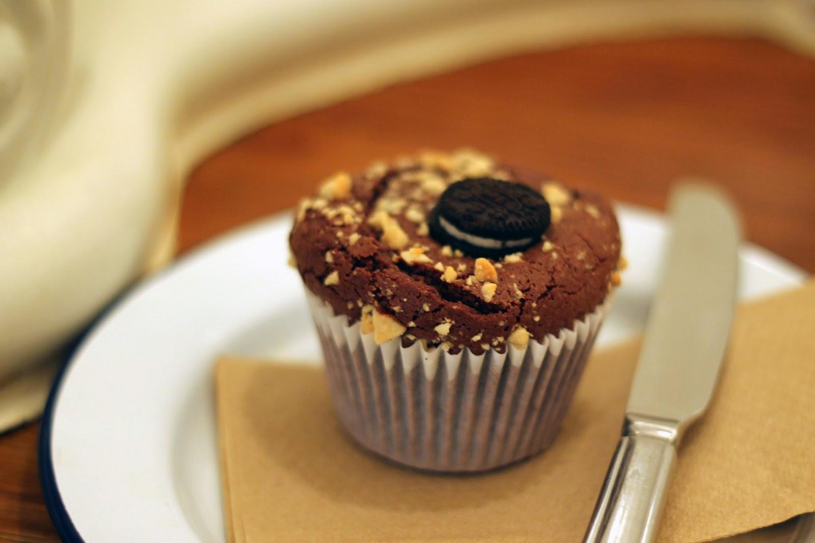 Oreo Peanutbutter Cupcake Attendant Food Cupcake Best cupcake cake peanut butter oreos oreo