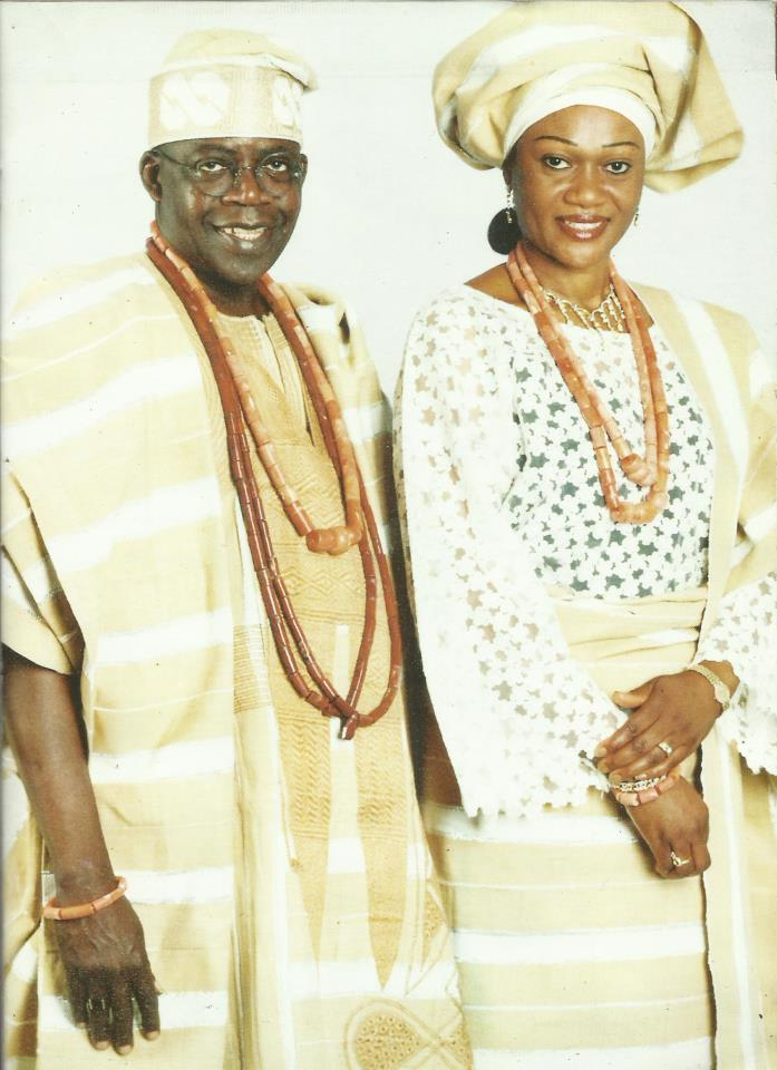 Asiwaju Bola Tinubu and wife honored with chieftancy titles