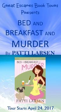 Patti Larsen: here 4/30/17