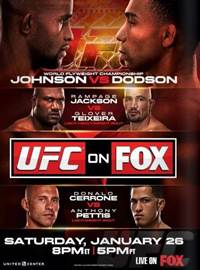 UFC on FX 6 Johnson vs. Dodson HDTV
