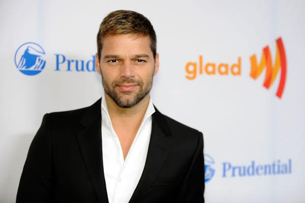 O cantor porto-riquenho Ricky Martin (Foto: Divulgação)