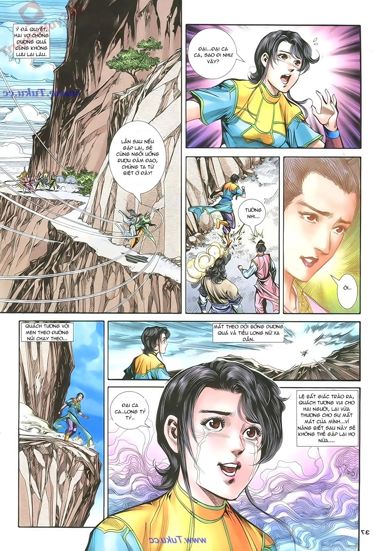 Thần Điêu Hiệp Lữ chap 86 – End Trang 36 - Mangak.info