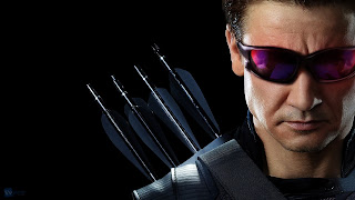 Jeremy Renner as Hawkeye HD Wallpaper