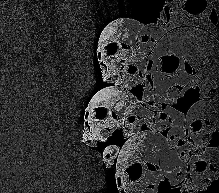 skull wallpaper for home cool hd wallpapers