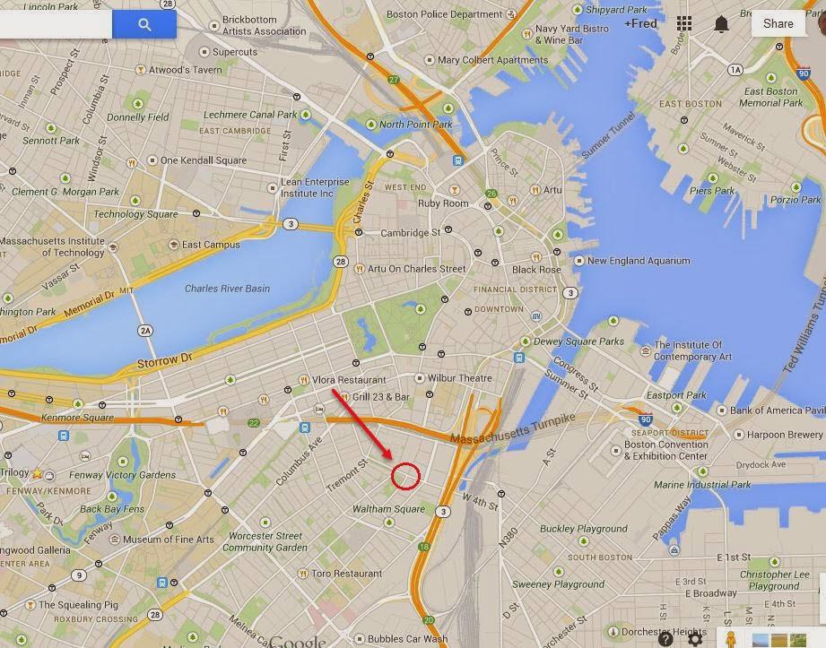 Fred Langa Exploring Boston Mapping the lost 39 Boston Neck 39