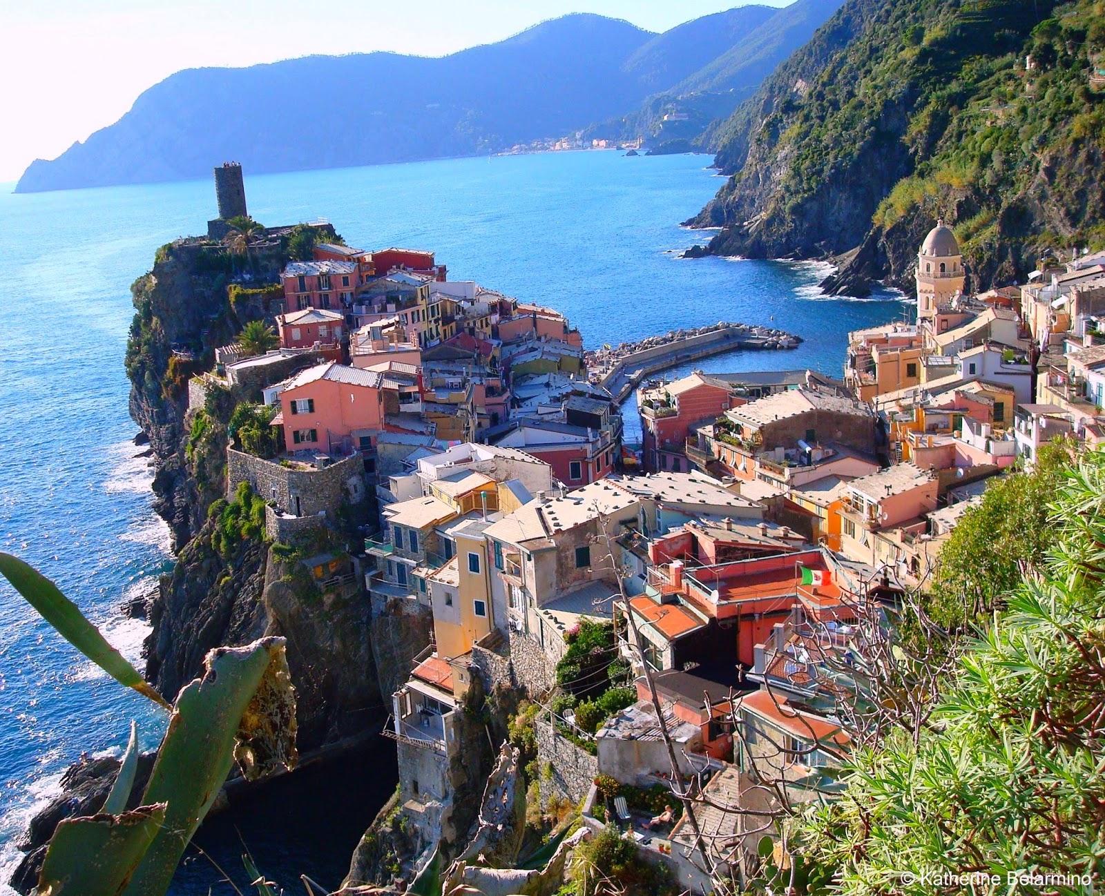 Cinque Terre Italy Vacation Ideas