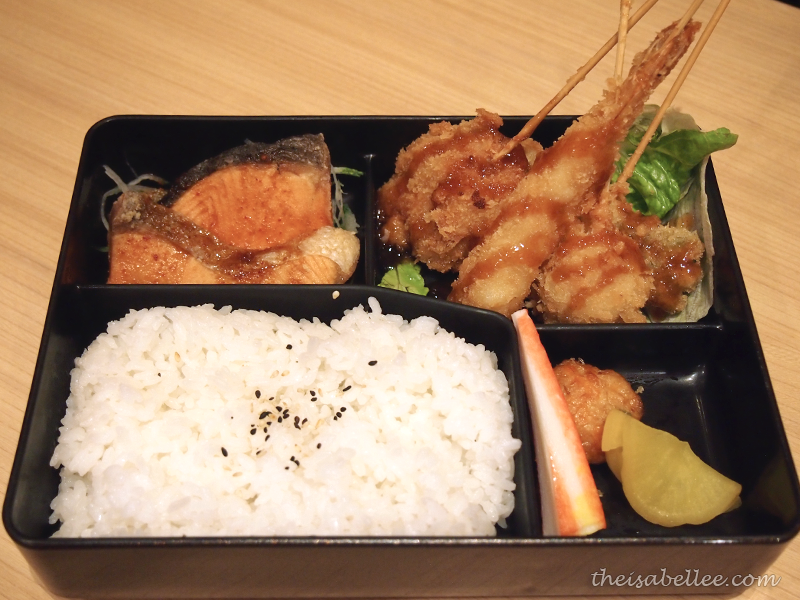 Sushi King Kushiage Bento