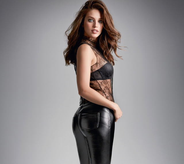 Calzedonia Fall/Winter 2015 Campaign featuring Emily DiDonato