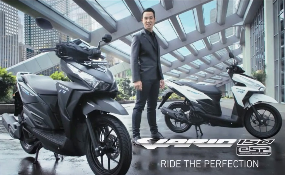 Ini dia TVC New Honda Vario 150 . . . Ride The Perfection