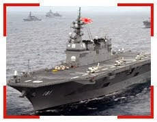 Japan: Japan's increased naval presence may cause waves