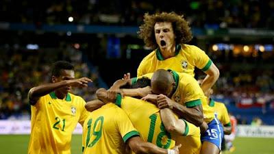 Xem lại đầy đủ trận Brazil vs Chile