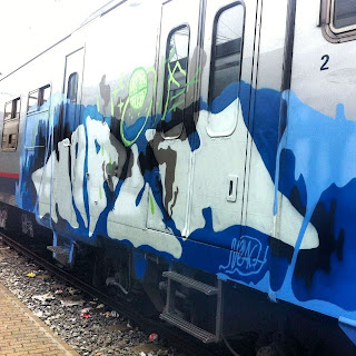 Painted Trains - Traingraffiti in Belgium