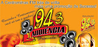 ouvir a Rádio Centrominas FM 94,3 Curvelo MG
