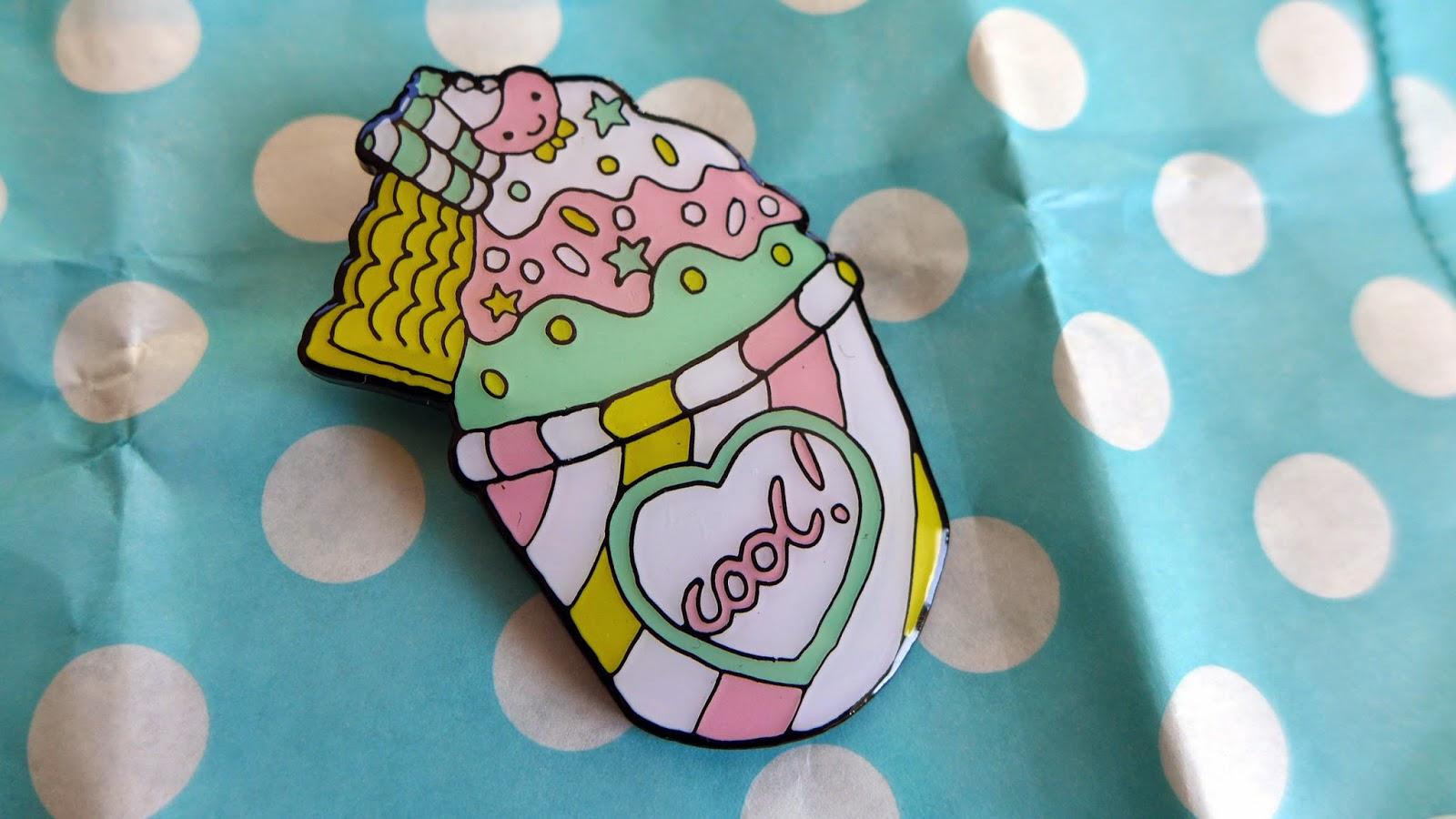 Ice Cream Broach