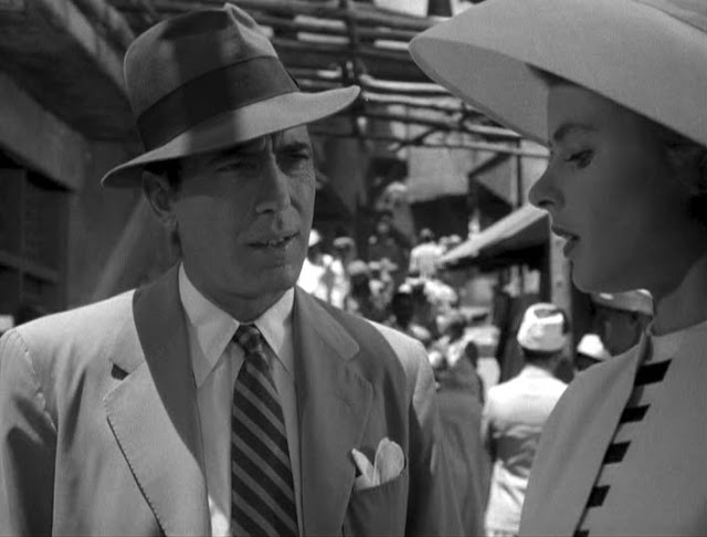 Great fashion from the movie  Casablanca.