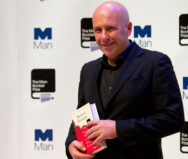 Man Booker Prize winner Richard Flanagan