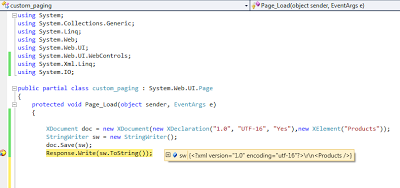 Add XML declaration programmatically