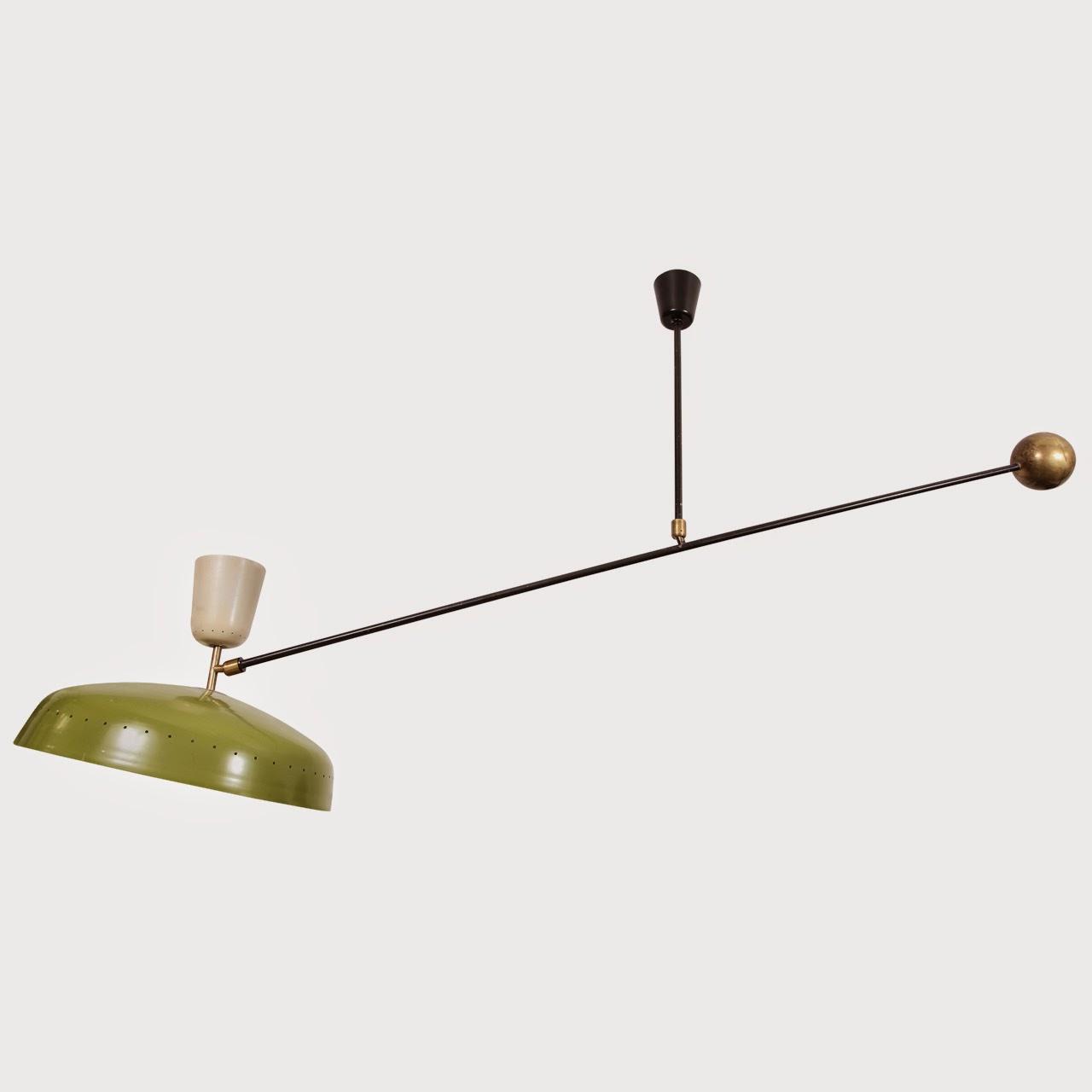 Genoeg Binnenkant : Elegante draaibare, verstelbare lampen uit de fifties NL24