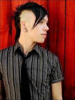 Male Emo Hairstyle