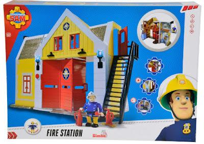 TOYS : JUGUETES - SAM EL BOMBERO - Estación de bomberos  Producto Oficial Serie TV | Simba Toys 9251062 | A partir de 3 años  Comprar en Amazon