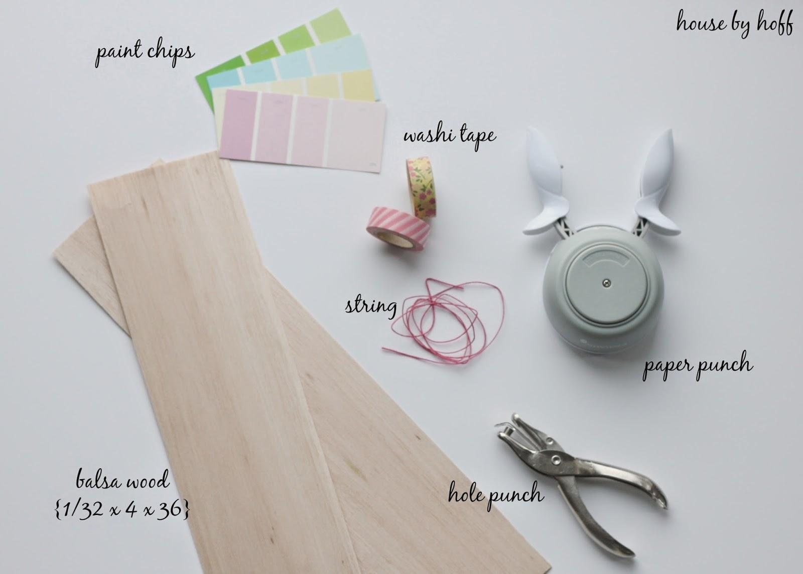 how to make gift tags via housebyhoff.com