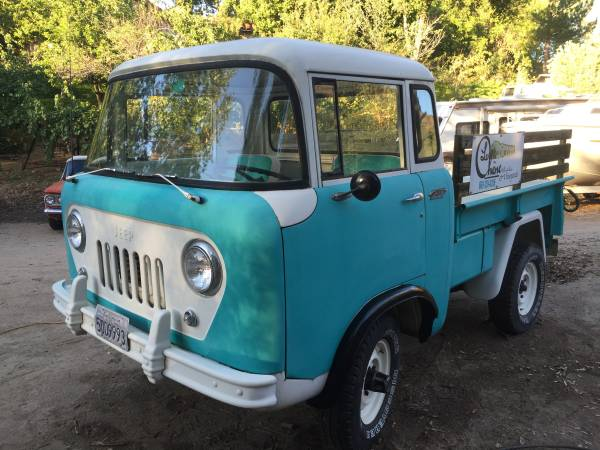 Jeep Fc Crew Cab For Sale >> 1961 Jeep FC150 4x4 Truck For Sale - 4x4 Cars