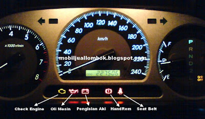Indikator dashboard Toyota Crown 2002