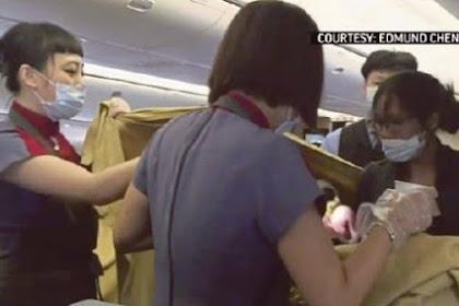 Pesawat China Airlines Mendapat Penumpang Tambahan Ketika Mendarat, Kok Bisa?