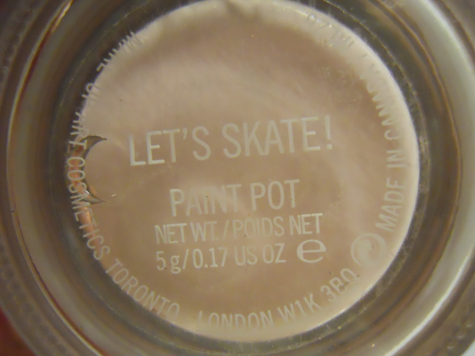 yummy411....get it here!: MAC Let\'s Skate Paint Pot Swatches and Review