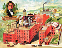 D.G. Yuengling & Son's Eagle Brewery in Pottsville, Pa.