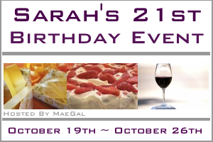 sarahs 21st birthday event maegal