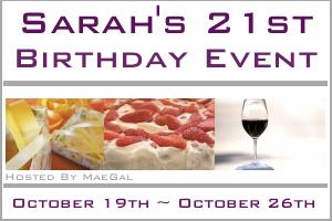 Sarah's 21st Birthday Event